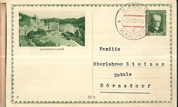 TCHECOSLOVAQUIE 1930  ENTIER POSTAL CARTE ILLUSTREE - Entiers Postaux