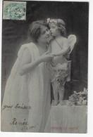 NYMPHE Et AMOUR - 1906 (K88) - Angels