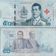 Thailand 2018 - 50 Baht King Rama X - Pick New UNC - Thailand