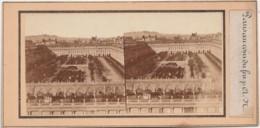 U20-75) PARIS AU COIN DU FEU - PALAIS ROYALE - PHOTO STEREOSCOPIQUE - VERS 1870 - 2 SCANS - Stereoscopio