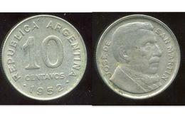 ARGENTINE 10 Centavos 1952 - Argentine