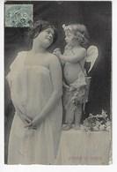 NYMPHE Et AMOUR - 1906  (K104) - Anges
