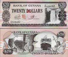 Guyana 1996 ND - 20 Dollars - Pick 30f Sign 15 UNC - Guyana