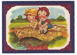 IMAGE THE CAMPBELL'S COLLECTION N° 23 . 1979 CAMPBELL KIDS . 1995 & TRADEMARK LICENSED BY CAMPBELL SOUP COMPAGNY - Vieux Papiers