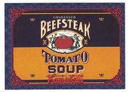 IMAGE THE CAMPBELL'S COLLECTION N° 25 . 1897 SOUP LABEL . 1995 & TRADEMARK LICENSED BY CAMPBELL SOUP COMPAGNY - Vieux Papiers