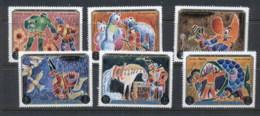 Ajman 1971 Mi#1021-1026 The Adventures Of Baron Von Munchausen MUH - Ajman