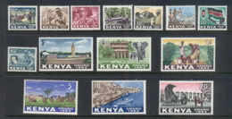 Kenya 1963 Pictorials MUH - Kenya (1963-...)