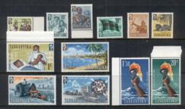 Tanganyika 1961 Pictorials MUH - Kenya (1963-...)