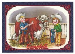 IMAGE THE CAMPBELL'S COLLECTION N° 28 . 1986 CAMPBELL KIDS . 1995 & TRADEMARK LICENSED BY CAMPBELL SOUP COMPAGNY - Vieux Papiers