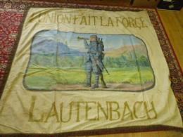 Drapeau Militaria 1926 Lautenbach Alsace Classe 1926 - Bandiere