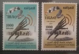 Iraq 2018 NEW MNH Baghdad Capital Of Arab Media - Charity Set Support Families Of Media Martyrs, Slain Journalists - Iraq