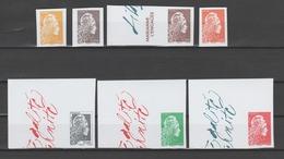 FRANCE / 2018 / Y&T N° ?2018/11/09 ** : Marianne L'engagée (Les 7 TP PF Non Dentelés Du Coffret Du Salon) - Neufs ** - Unused Stamps