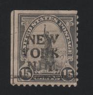 USA  857 SCOTT 696 NEW YORK NY - Estados Unidos
