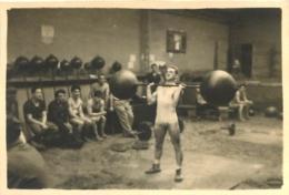 PHOTO ORIGINALE HALTEROPHILE HALTEROPHILIE  FORMAT  8 X 5.50 CM - Sport