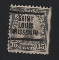 USA  633 SCOTT 566 SAINT LOUIS MISSOURI - Estados Unidos
