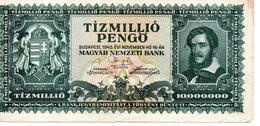 TIZMILLIO MILIPENGO  BUDAPEST 1946 - Hongrie