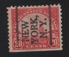 USA  859 SCOTT 698 NEW YORK NY - Estados Unidos