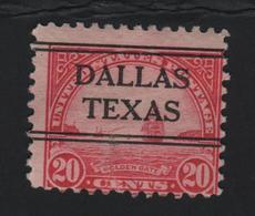 USA  718 SCOTT 567 DALLAS TEXAS - Stati Uniti