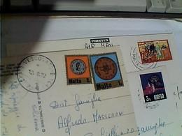 3 CARD  FRANCOBOLLO COMMEMORATIVO Malta  STAMP SELO TIMBRE  GY6006 - Malta