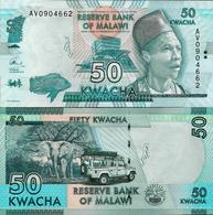 Malawi 2015 - 50 Kwacha - Pick 64b UNC - Malawi