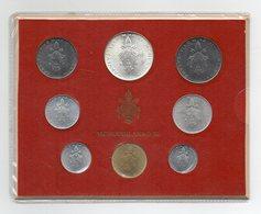 Vaticano - 1973 - Serie Divisionale Papa Paolo VI° - Anno XI° - Con Argento - (FDC13137) - Vaticano