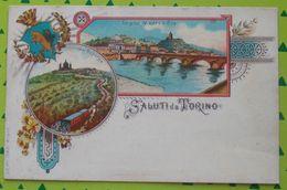 Cartolina - Saluti Da Torino - Viaggiata - Italia