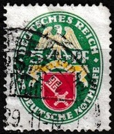 T.-P. Oblitéré Millésime 1929 - Armoiries Brême Deutsche Nothilfe Deutsches Reich - N° 421 (Yvert) - Empire 1929 - Oblitérés
