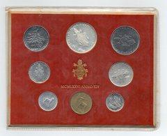 Vaticano - 1976 - Serie Divisionale Papa Paolo VI° - Anno XIV° - Con Argento - (FDC13139) - Vaticano