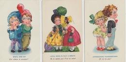 18/12/2. -  3  CP  DOLLY - SERIE - Dibujos De Niños