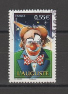 "FRANCE / 2008 / Y&T N° 4218 : ""Cirque"" (l'Auguste) - Choisi - Cachet Rond - France"