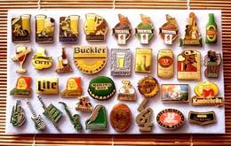 Joli Lot De 36 Pin's Biére, Voir Photos, Pins Pin. - Badges