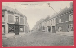 Quiévrain - La Grand'Rue - 1907 ( Voir Verso ) - Quiévrain