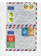 Libyen / 2 Int. Frank. Lupo-Briefe Nach Deutschland (40085) - Libya