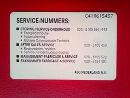 AEG  2 1/2 Guilders  Mint - Netherlands