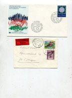 Belegeposten / 17 Belege (40086-80) - Briefmarken