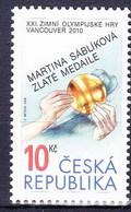 ** Tchéque République 2010 Mi 625, (MNH) - Czech Republic