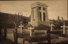 Cp Korfu Griechenland, Spomenik U Grobljistu Srpskih Vojnika - Grèce