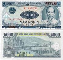 Vietnam 1991 - 5000 Dong - Pick 108 UNC - Viêt-Nam