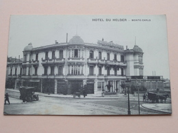Hotel DU HELDER ( Foucard ) Anno 19?? ( Zie / Voir Photo ) ! - Hôtels