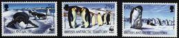 British Antarctic BAT 1992 WWF Penguins Pinguine Manchots - Penguins