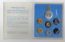 Vaticano - 1987 - Serie Divisionale Papa Giovanni Paolo II° - Con Argento - (FDC13141) - Vaticano