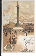 PARIS 12   PLACE DE LA BASTILLE     ILLUST LOIR LUIGI   BRINDE DE MANTEIGA F. DEMAGNY  ISIGNY COULEURS - Arrondissement: 12