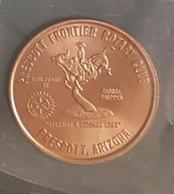 MA - PRESCOTT ARIZONA FRONTIER Rotary Club, GEORGE PHIPPEN Eternity 8 Second Long Ride, 30 Mm - Etats-Unis