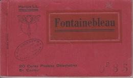 18/12/8. -  CARNET  CPA  DE  FONTAINEBLEAU - Cartes Postales