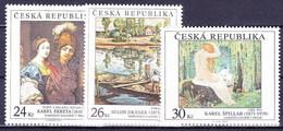 ** Tchéque République 2010 Mi 660-2, (MNH) - Czech Republic