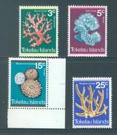 TOKELAU - MNH/** - 1973 - CORAL - Yv 37-40 -  Lot 18351 - Tokelau