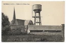 LOIR ET CHER - SAINT VIATRE - L'église Et Le Château D'eau - Sonstige Gemeinden