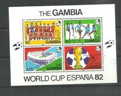 IVERT NºB.F 6 ** 1982 - Gambia (1965-...)