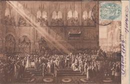 Musèe De Versailles - J. Roubaud Bapteme Du Roi De Rome (10 Juin 1811) Dans L'Eglise Notre Dame - Musei