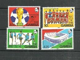 IVERT Nº442/45 ** 1982 - Gambia (1965-...)